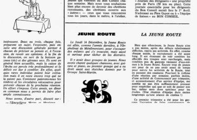 Arche de Noë,Jeune Route 01-62