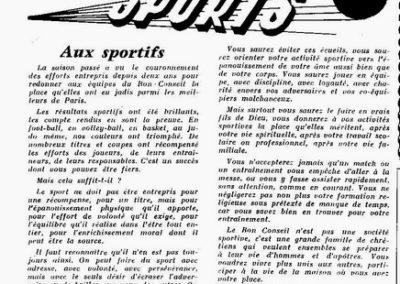 Aux Sportifs PG 1959