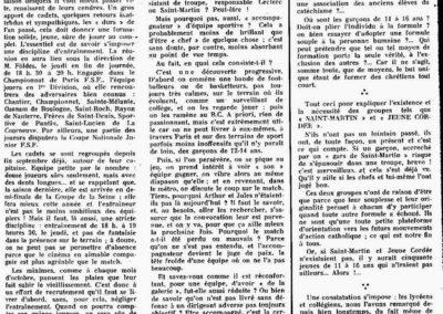 La Cordée et St Martin 11-1957