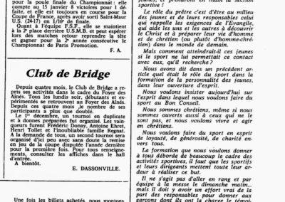 Le Ballon Catholique fev 1969
