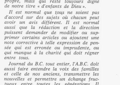 Le rôle de l'ABC 12-62