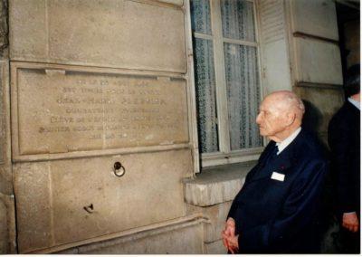 Plaque J.M. Plessier